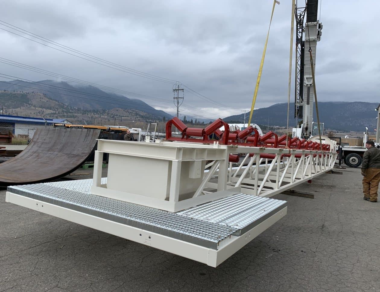 lime silo conveyor system