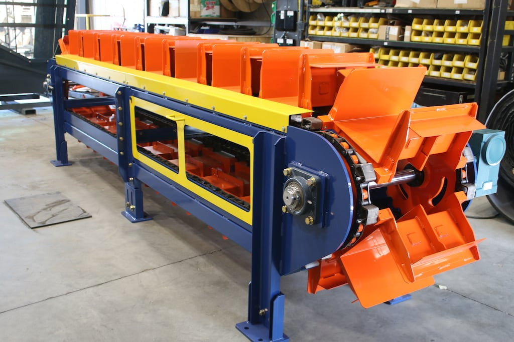 Build to Print Bucket Conveyor Project