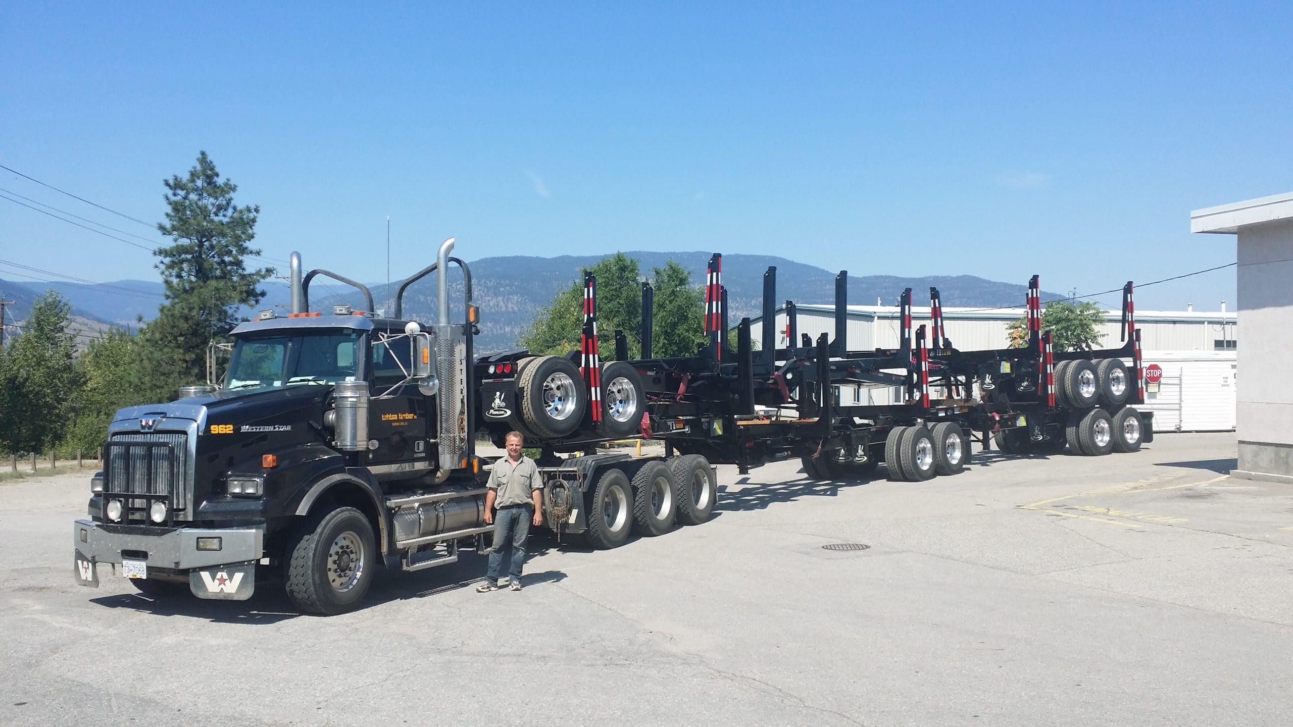 truck waycon manufacturing transportation project