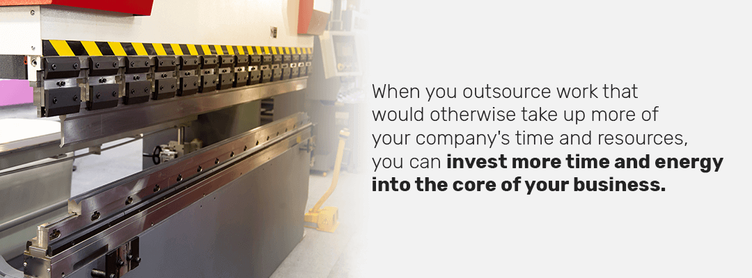 why do companies choose to outsource work