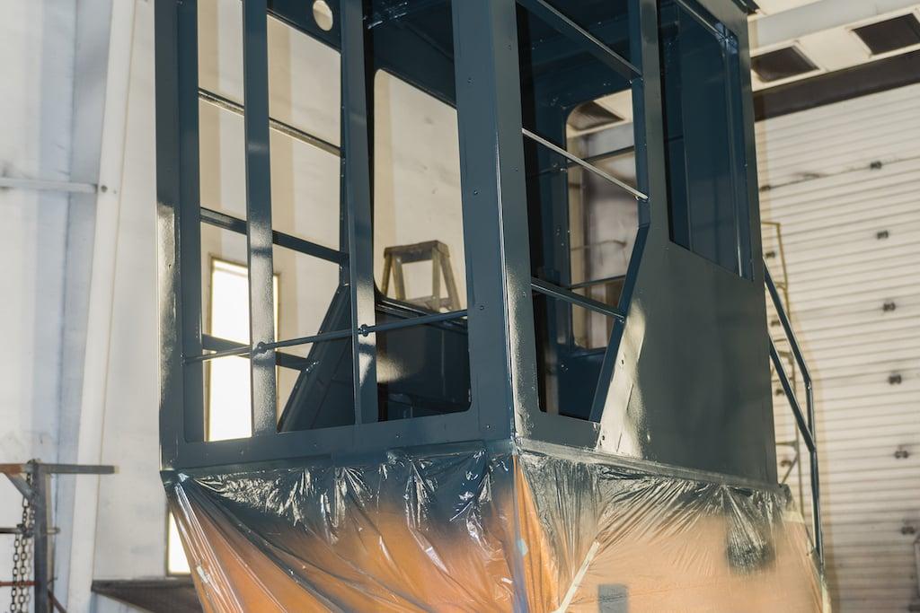 Sandblast Paint - Waycon Manufacturing