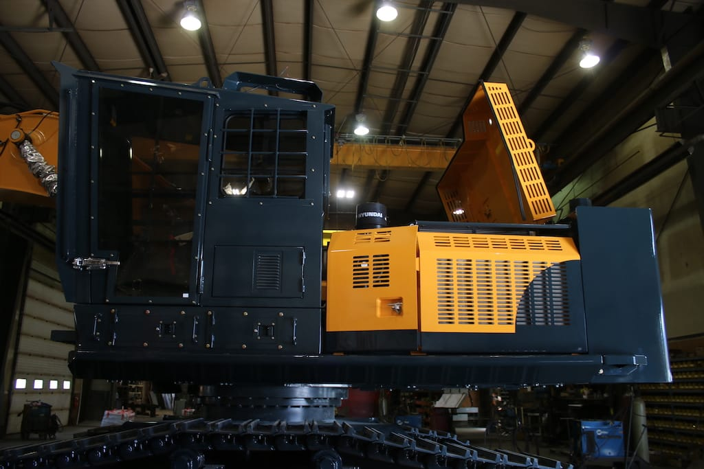Waycon Manufacturing Ltd Excavator Conversion for Hyundai