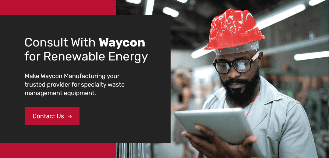consult with waycon for renewable energy