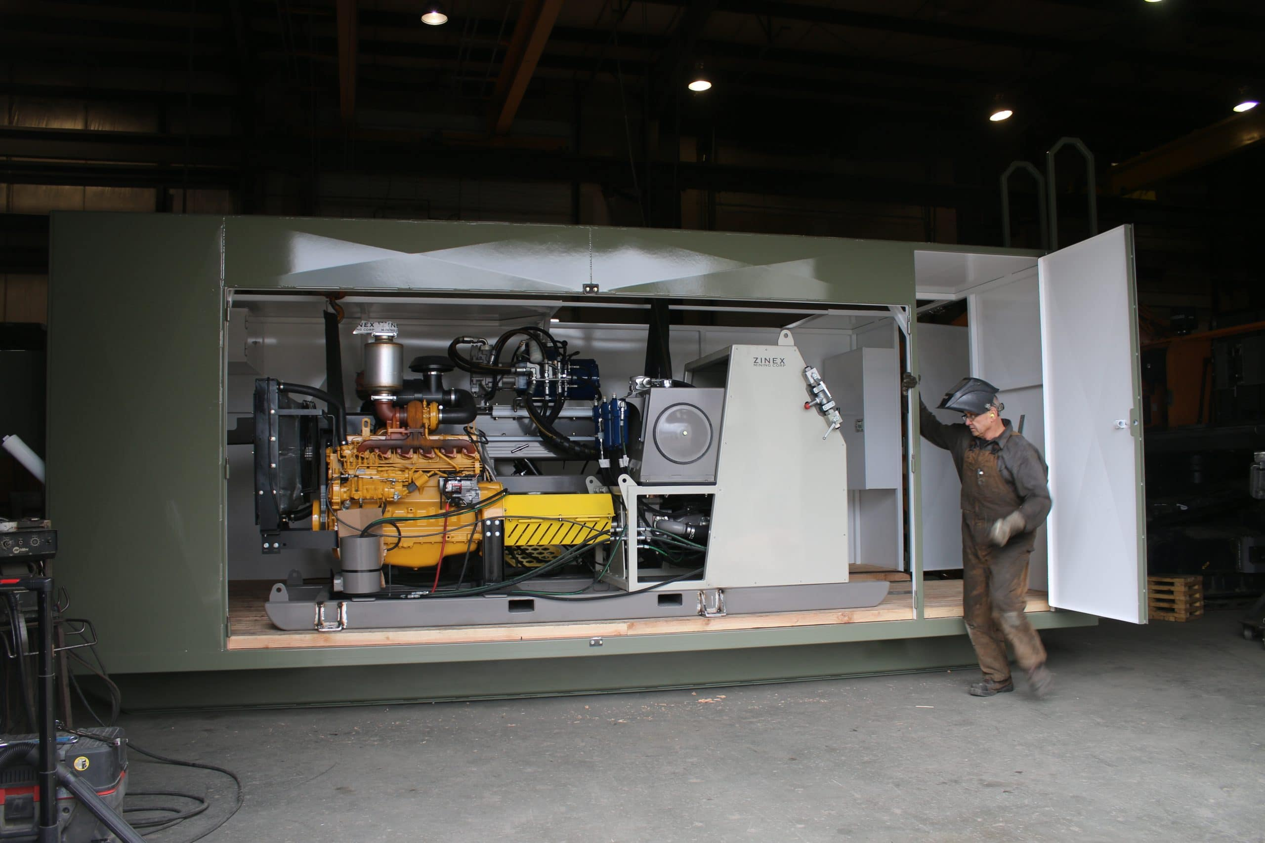 Darcy Lead on Drill Shack Project