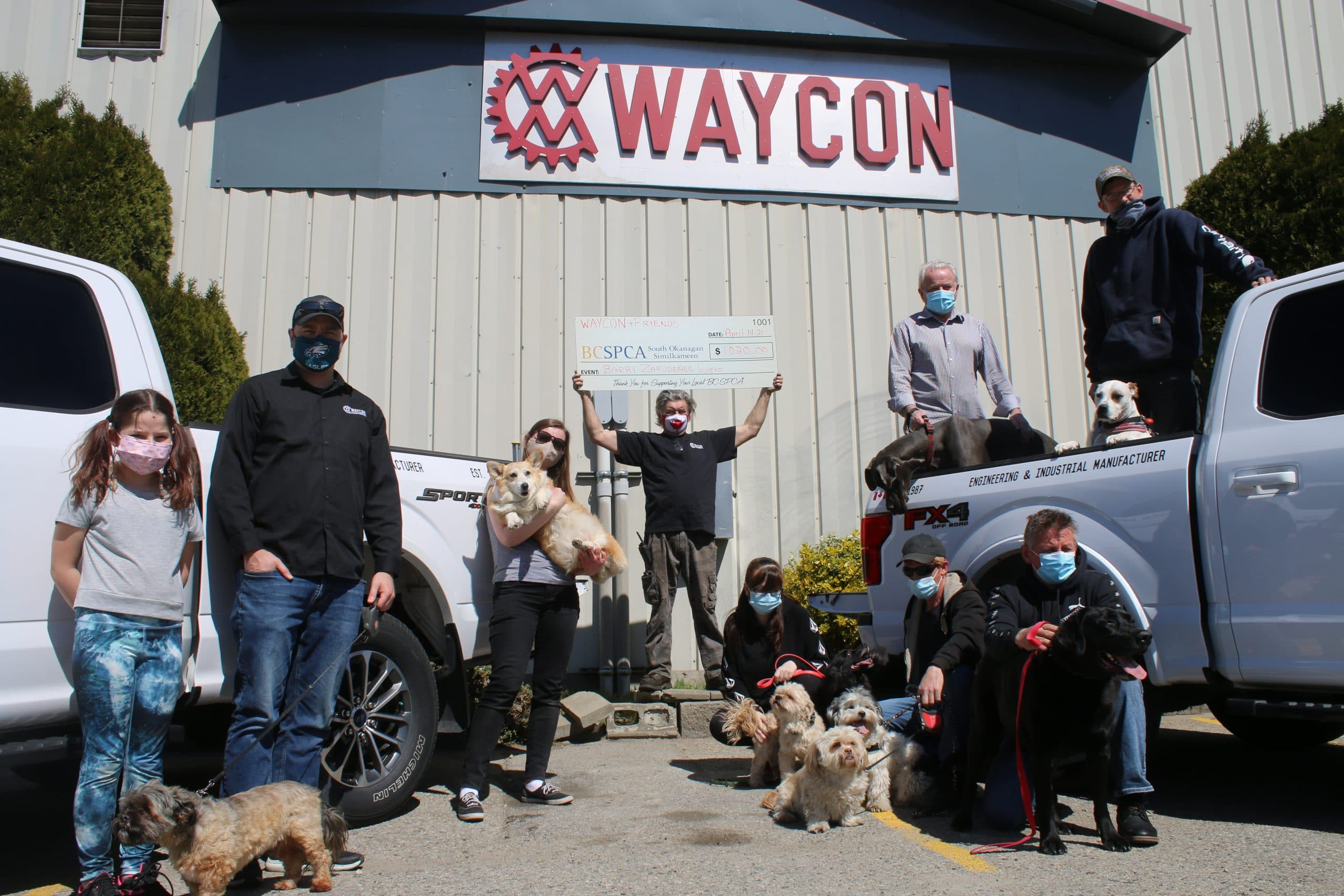 Waycon Manufacturing SPCA Fundraiser